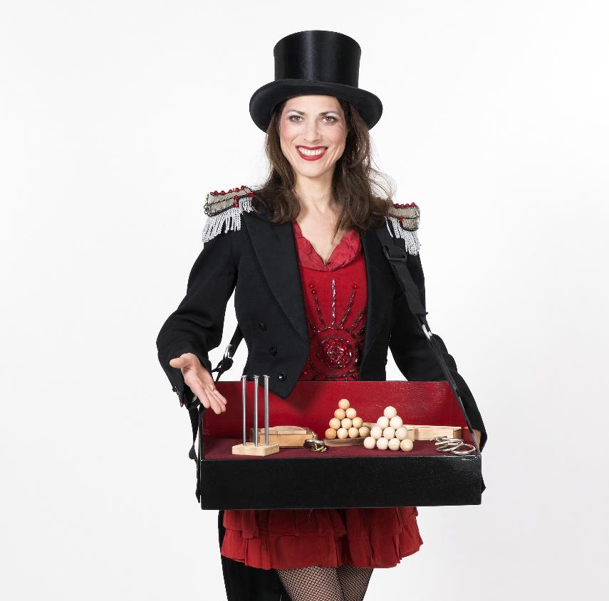 Die BAuchladenfrau für Ihre Veranstaltung in Berlin!